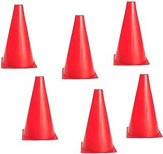 Zdan.uu 18cm de Football Formation Signe spécial Baril en Plastique roadblock cône Logo cône de Formation cône