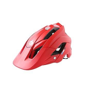 Casco de bicicleta de montaña Casco ultraligero ajustable MTB ...