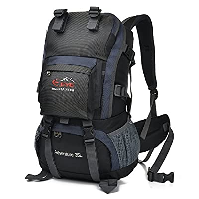 EYE 35L Outdoor Camping Backpack Travel Backpack Hiking Daypack Rock Climbing Backpacking for Mountaineering,Camping,Traveling,Cycling,Leisure,Skiing