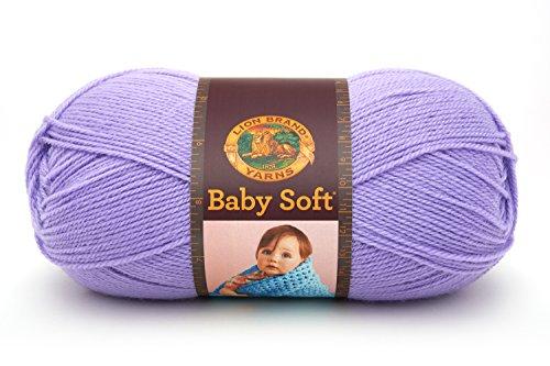 Lion Brand Yarn 920-143A Babysoft Yarn, Lavender