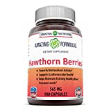 Cheap Amazing Formulas Hawthorn Berries – 565 Mg, 180 Capsules – Powerful Antioxidant Properties – Supports Cardiovascular Health – Helps Maintains Existing Healthy Blood Pressure Levels