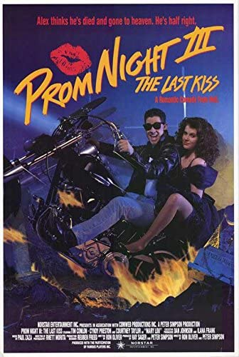 Amazon.com: Prom Night 3 The Last Kiss POSTER Movie (27 x 40 Inches - 69cm  x 102cm) (1990): Posters & Prints