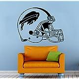 """Buffalo Bills NFL Vinyl Emblem Decal Sticker Wall Logo Sport Home Interior Removable Decor (22""""high X 30""""wide)"""