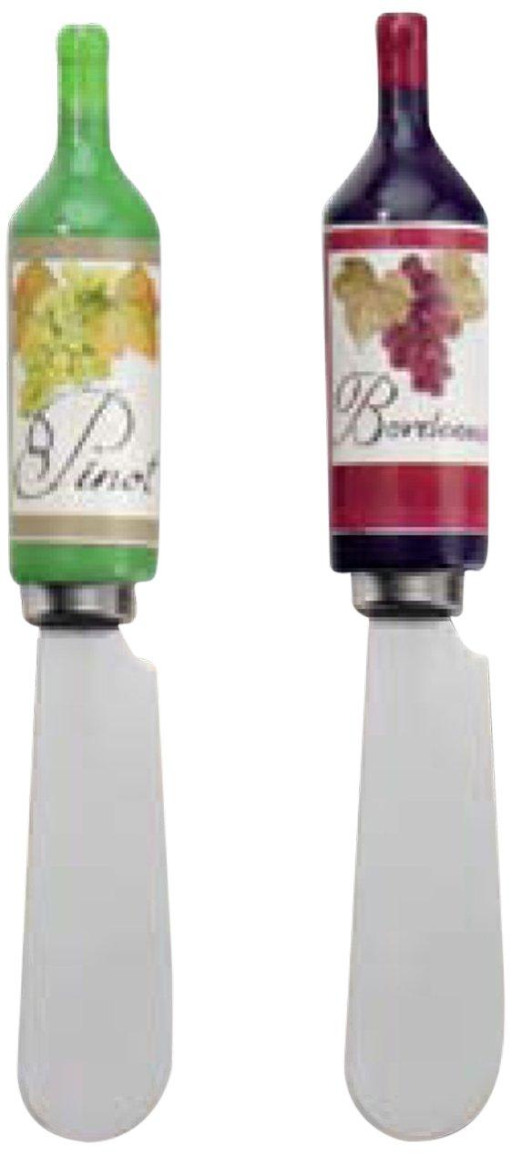 Boston International Ideal Home Range Spreader Set, Wine Bottle