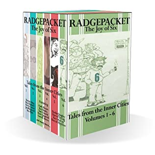 book cover of Radgepacket - Tales From The Inner Cities Boxset  3