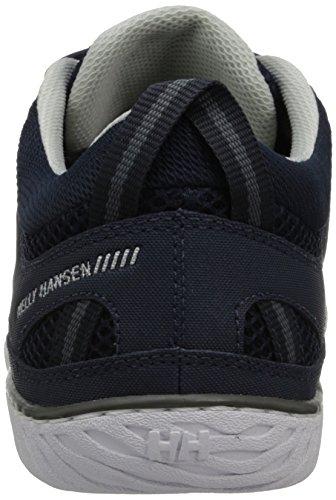 3 Bleu Homme Helly Bateau Sailpower 597 Hansen Navy Chaussures Gris Grey Mid Blanc White qYxEBS