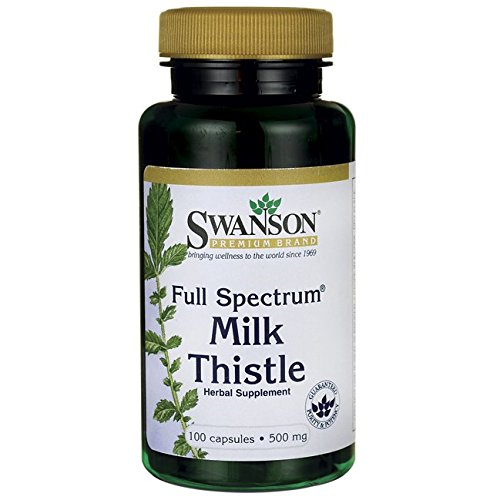Swanson Full Spectrum Milk Thistle 500 mg 100 Caps