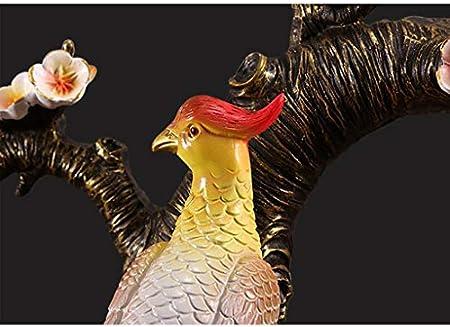 Botelleros de mesa Estante del vino de la resina del pavo real vino vino rack gabinete Decoración Mejor Vino Tinto soporte for el Hogar decoración de la barra Estantes y gabinetes para vino de cocina