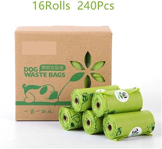 RuiHuang Bolsas para Caca de Perro biodegradables Bolsas para ...