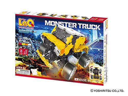 LaQ (라 큐) ハマクロンコンストラクタ? 몬스터 트럭 / LaQ (Lacher) Hamacron Constructor Monster Truck