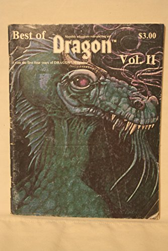 - Best of Dragon Magazine vol. II (2) Monthly Adventure Role-Playing Aid
