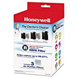 Cheap Honeywell Allergen Remover Replacement HEPA Filters, 3/Pack