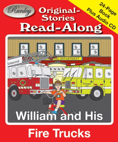 Truck Cd Book Fire (William and His Fire Trucks Read-Along Storybook and CD)