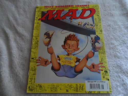 MAD MAGAZINE - # 360 - AUGUST 1997 - ROSIE O'DONNELL / AOL / CON AIR
