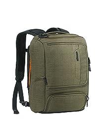 eBags Professional Slim Junior mochila para computadora portátil, talla única , Negro sólido