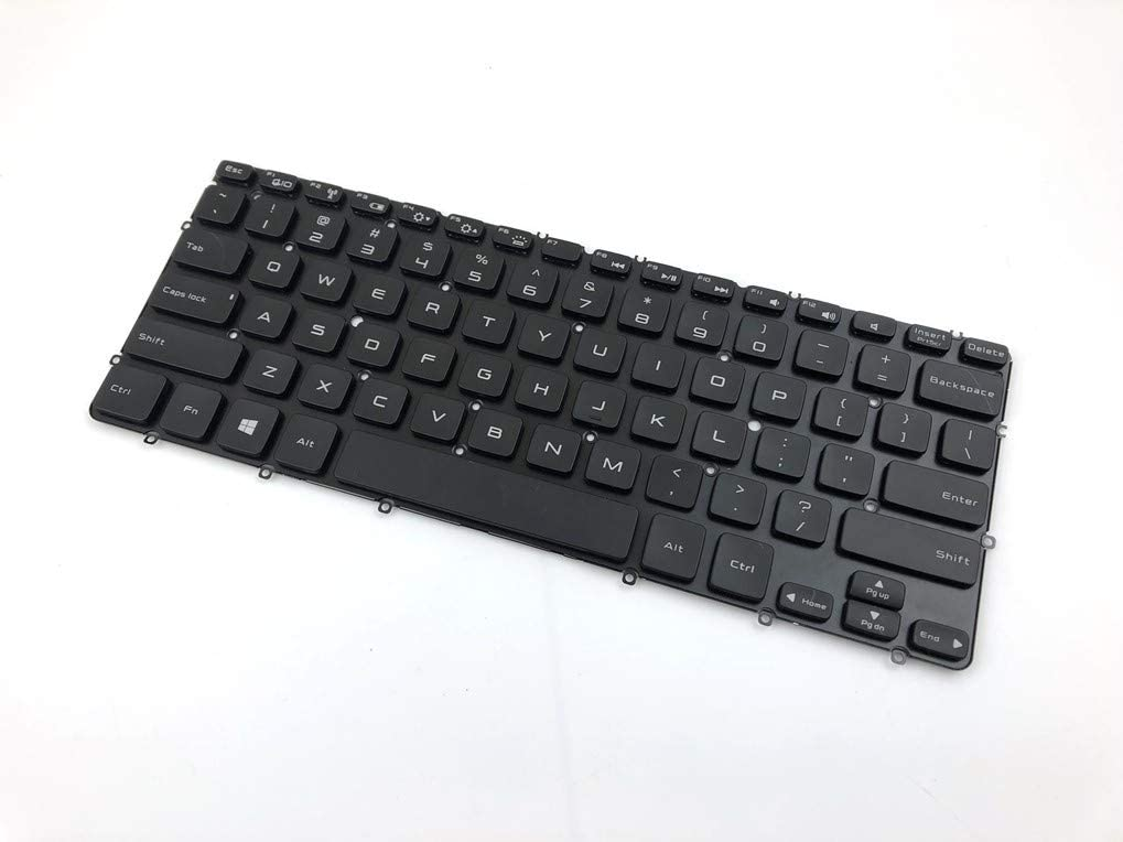 Moon2020 Replacement Keyboard for Dell XPS 12 13 13R 13D 13Z L321X L322X Ultrabook Series (New Version) Laptop Backlight Without Frame V128725AS2 PK130S72B07 MP-11C73CKJ398W PK130S71B01 9Z.N7MLN.001