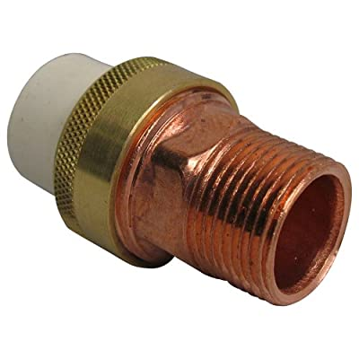 NIBCO 4733-4 Series CPVC and Brass Pipe Fitting, Union, Slip x NPT Male