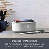 Bedside Radio Alarm Clock with USB