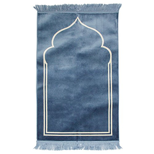 light blue prayer mat - 1