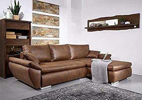 MASSIVMOEBEL24.DE Sofa Chicago Ecksofa Schlafsofa Antik ...