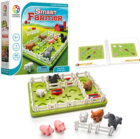 SmartGames Farmer Focused Cognitive Skill Building product image