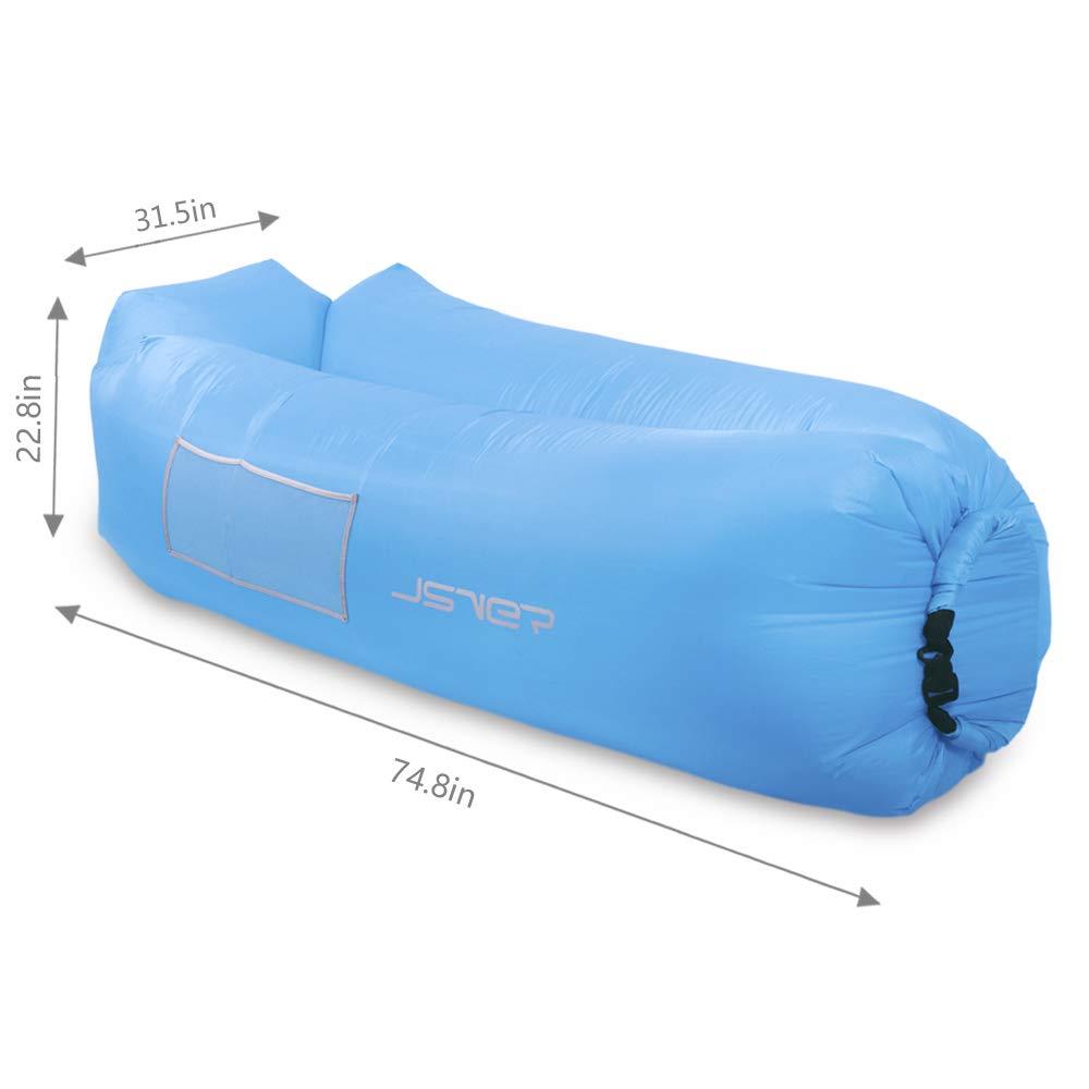 Amazon.com: JSVER - Sofá hinchable portátil a prueba de agua ...