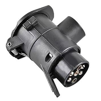 Craft-Equip Adapter 7 polig auf 13 polig für Anhänger PKW Stecker ...