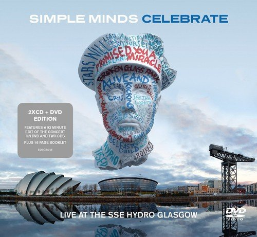 CD : Simple Minds - Celebrate-Live from the Sse Hydro Glasgow (United Kingdom - Import, 3 Disc)