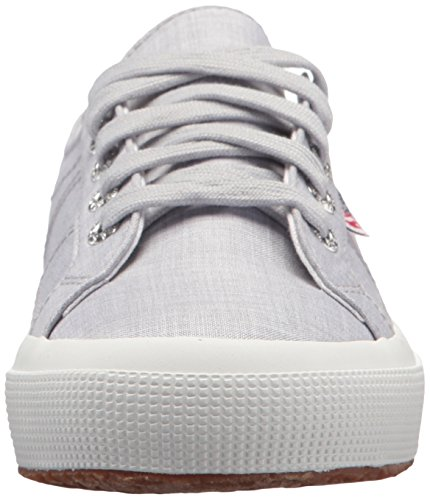 Superga Women's 2750 Fabricshirtu Sneaker Light Grey official site for sale b4frED