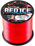 Ultima Red Ice Strong Hi Vis Sea Fishing Line