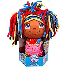 Flip Zee Precious Girls Lola African American 2 in 1 Girl 9 Inch Plush The Baby That Flips For You