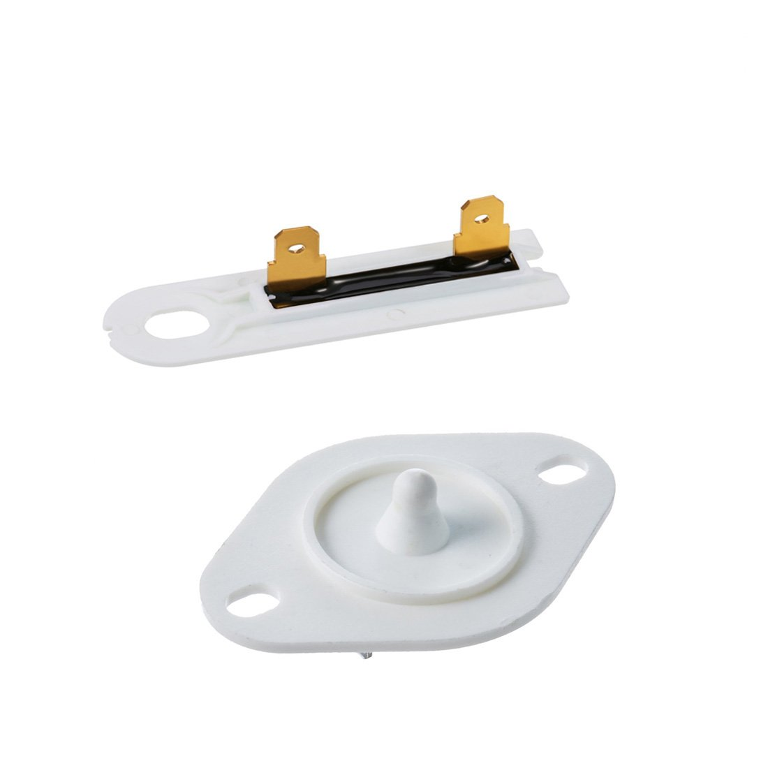 Siwdoy 8577274 Dryer Thermistor and 3392519 Dryer Thermal Fuse for Whirlpool & Kenmore Dryers