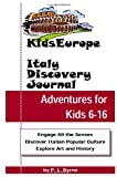Kids Europe Italy Discovery Journal