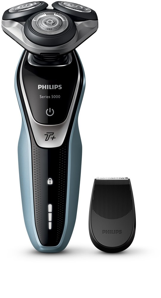 Philips Series 5000 S5530/06 Wet and Dry Men's Electric Shaver with Turbo Plus Mode