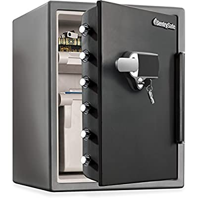 Sentry Safe SFW205UPC Electronic Alarm Water/Fire-Resist Safe, 2.05 ft3, 19 3/10 x 19 3/8 x 23 7/8 (SENSFW205UPC)