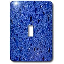 3dRose lsp_174368_1 Image of China Bright Blue Quartz Light Switch Cover
