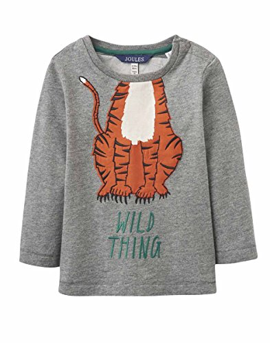 Joules Junior Jack Tiger Top-5-6 years