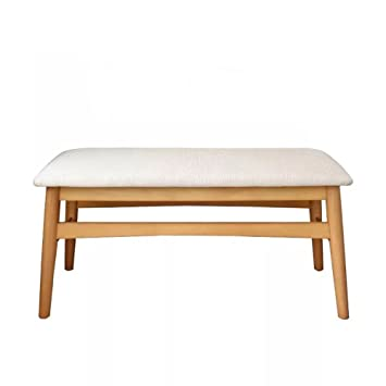 Amazon De Einstellbar Hocker Massivholz Bettende Sofa Bank