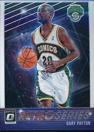 4fc39e921316 2018-19 Donruss Optic Retro Series  20 Gary Payton Seattle Supersonics  Official NBA Basketball