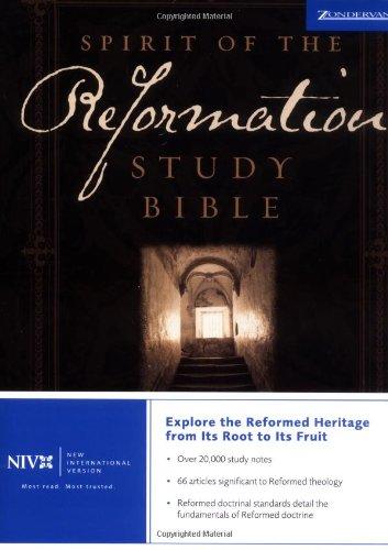 Read Online NIV Spirit of the Reformation Study Bible pdf epub