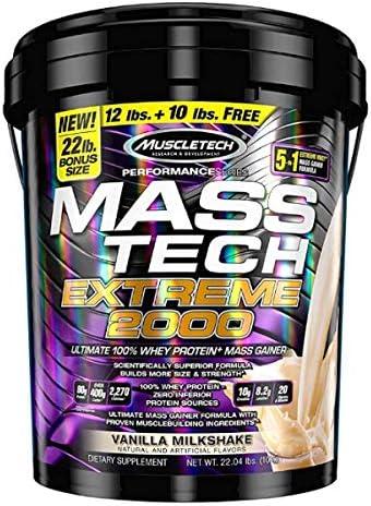 Muscletech Mass-Tech Extreme 2000 - 10 Kg Triple Chocolate Brownie