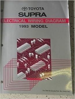 1993 toyota celica service repair workshop shop manual set factory w ewd:  toyota: amazon com: books