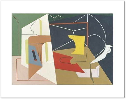 1928 by Stuart Davis Abstract Poster 11x14 4 Egg Beater No MUSEUM ART PRINT