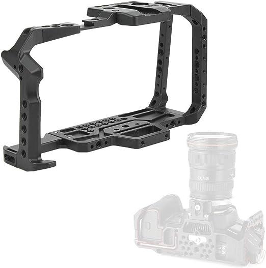 Aluminum Alloy BMPCC 4K Cage Rig According to The 3D Modeling of BMPCC 4K Modelfor Blackmagic Design Pocket Cinema Camera Metal 4K Cage
