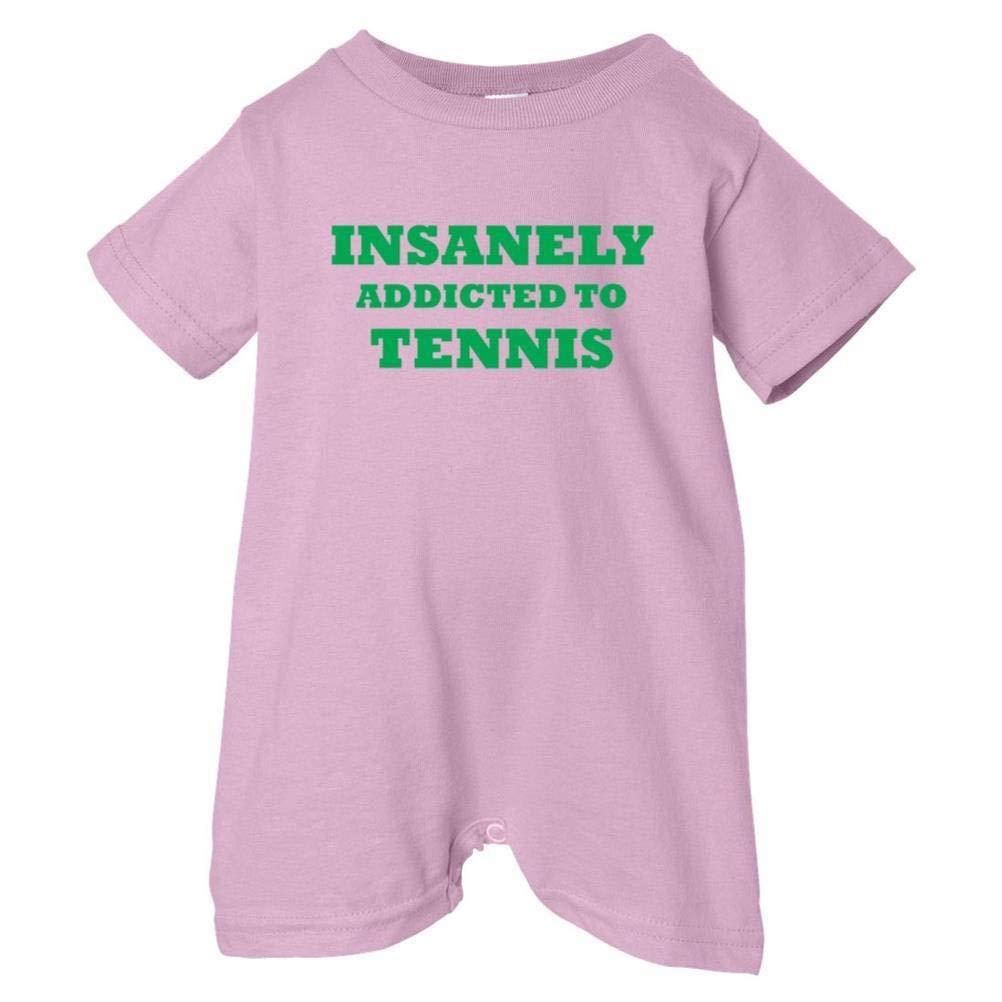 Mashed Clothing Unisex Baby Insanely Addicted To Tennis T-Shirt Romper