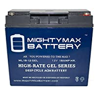 12V 18AH GEL Battery for Jump n Carry JNC660 JNCAIR JNC 660 - Mighty Max Battery brand product