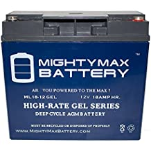 12V 18AH GEL Replacement Battery for Champion Generator 9000 - Mighty Max Battery brand product