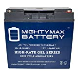 12V 18AH GEL Battery for Pride Mobility SPSC60 Revo Sport - Mighty Max Battery brand product