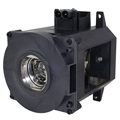 CTLAMP NP21LP / 60003224 Original Projector Lamp NP21LP with Original Bare Bulb Inside Lamp with Housing Compatible with NEC NP-PA500U NP-PA500X NP-PA5520W NP-PA600X NP-PA550W with 365 Days - Wide Lamp Bare