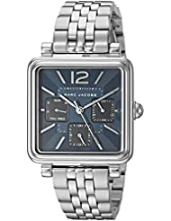 Marc Jacobs Womens Vic Quartz Stainless Steel Casual Watch, Color:Silver-Toned (Model: MJ3570)